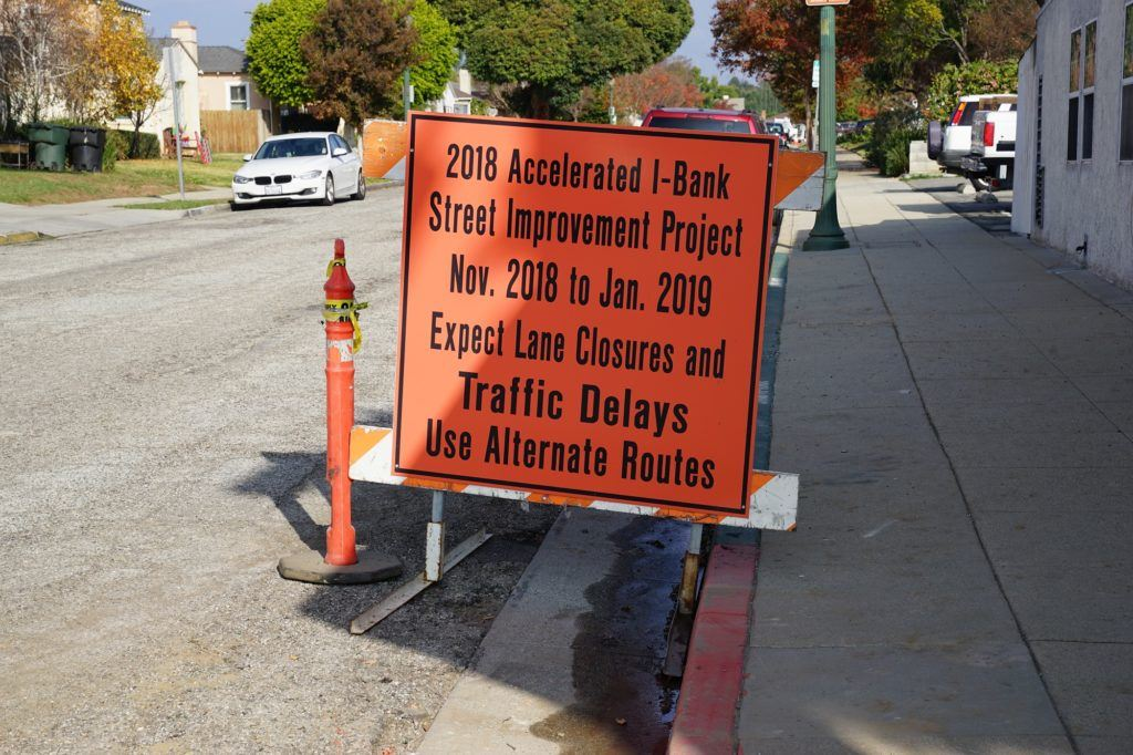 Construction update: Cresta Avenue & Mount Vernon Drive