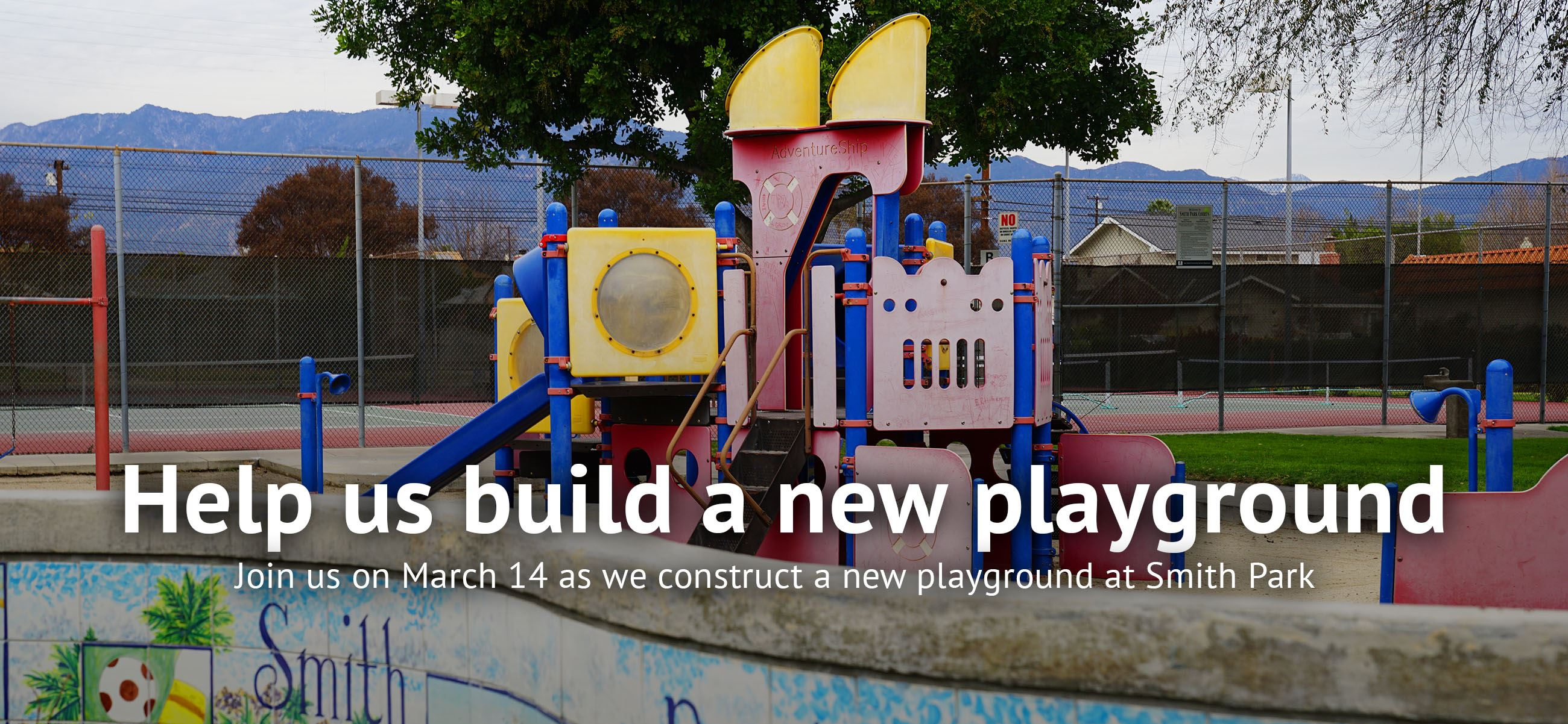 Help us build a new playground