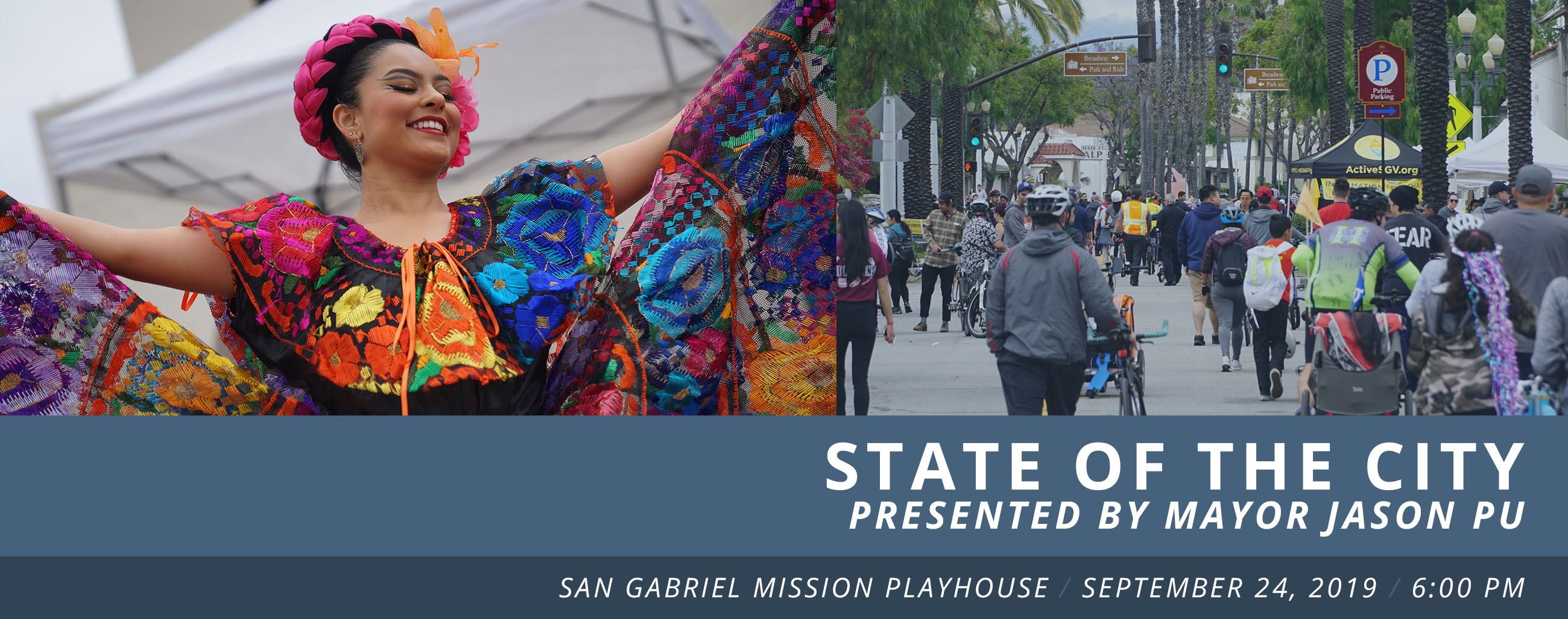 State of the City - Join us on September 24 at the Playhouse