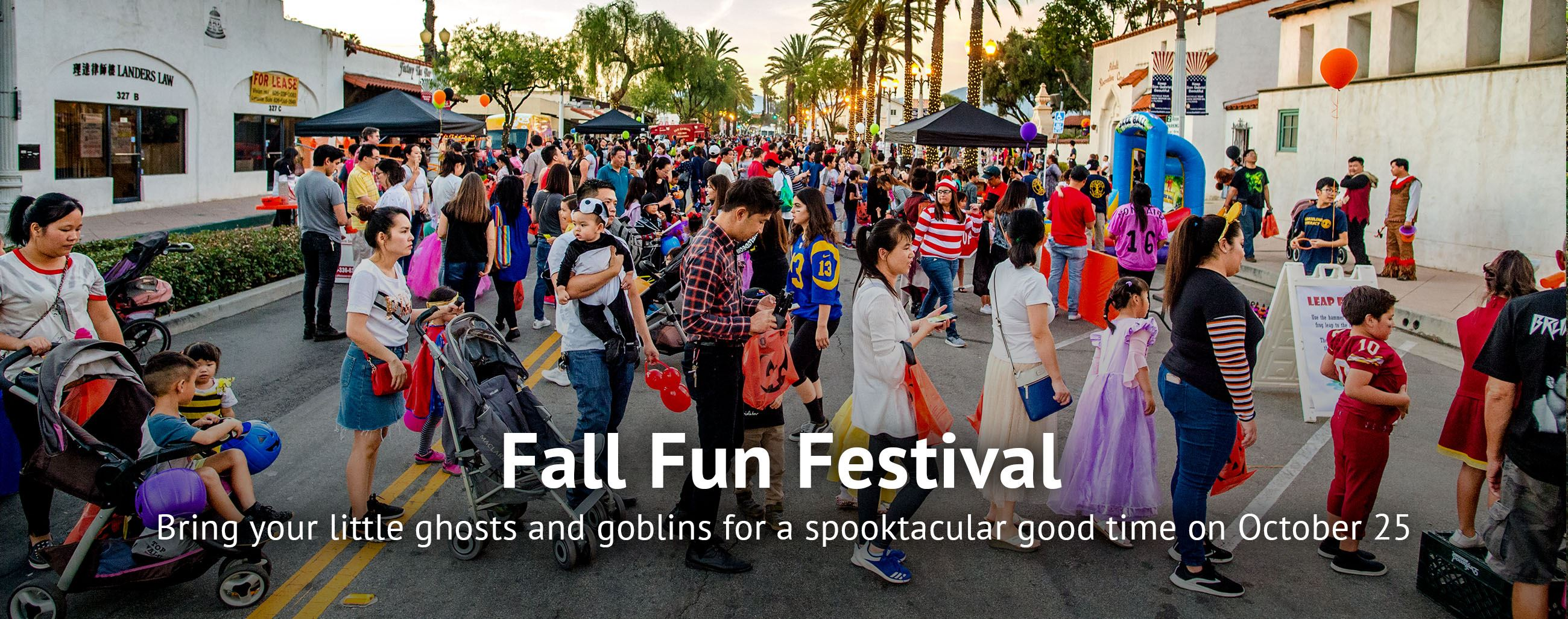 Bring your little ghosts and goblins for a spooktacular good time on October 25