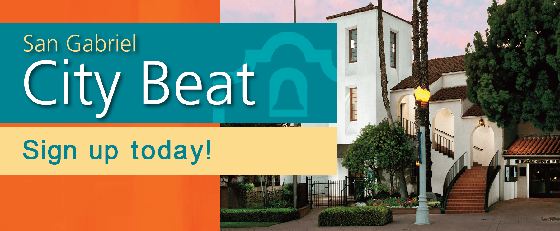 sign up today for city beat
