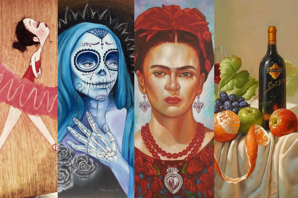 Featured artists at Cinco de Mayo Mercado