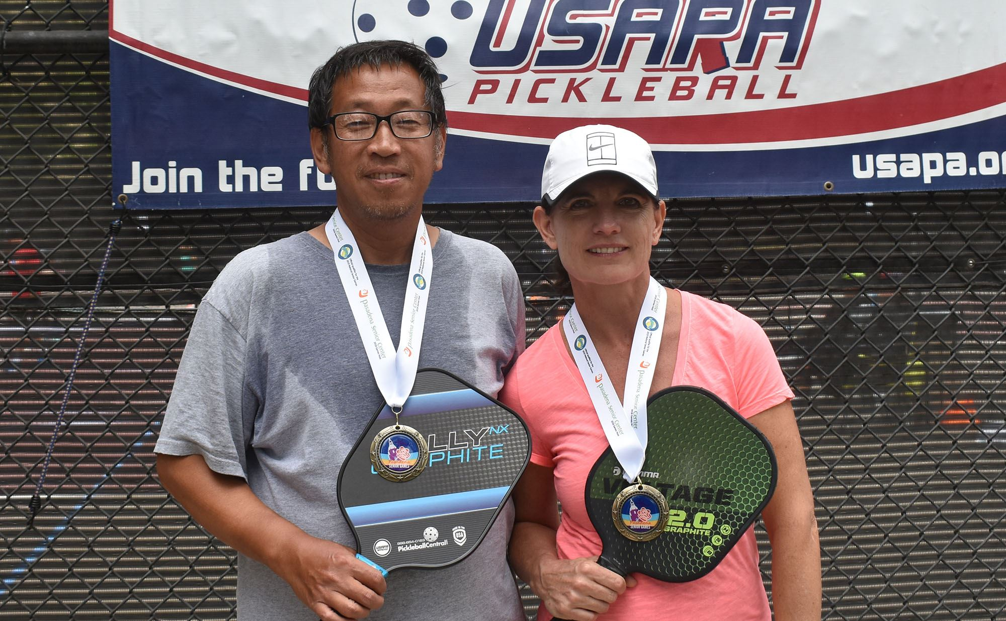 San Gabriel pickleball players win gold at tournament