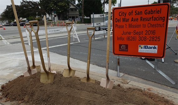 del mar avenue groundbreaking