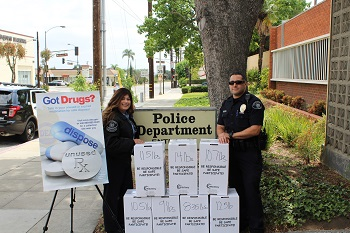 drug take back event