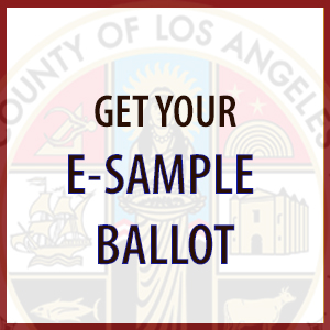 Get Your E-Sample Ballot Image Link